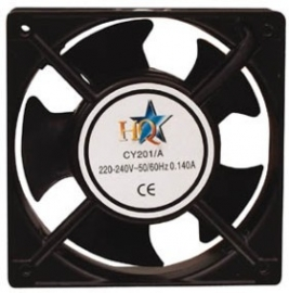 CY 201HQ PC VENTILATOR 220V 120X120X38mm
