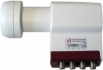 F-LNB.QUAD \'INVERTO\'-RED-SILVER LIN\' LNB QUAD  0,3